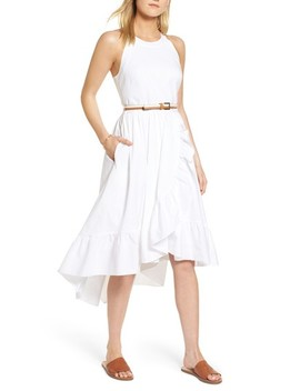 Belted High/Low Dress by 1901