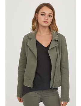 Twill Biker Jacket by H&M