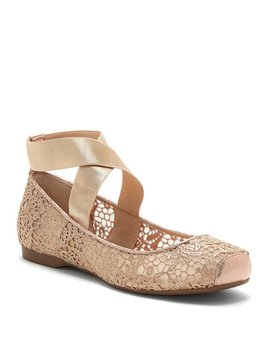 Maggda Ankle Strap Flats by Jessica Simpson
