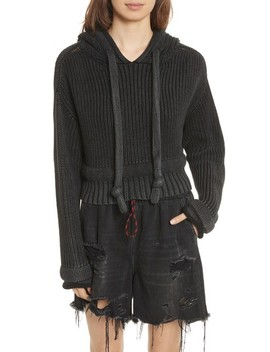 Chunky Knit Hoodie by Alexander Wang