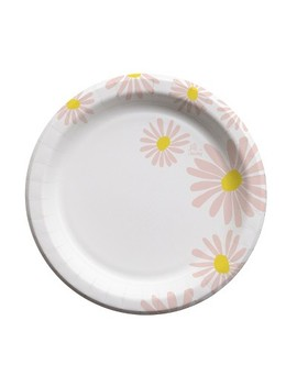 """Oh Joy! For Cheeky Pink Daisies 10"""" Paper Plates   20ct by Cheeky"""