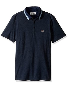 Ben Sherman Men's Marl Tipp Collar Polo by Ben Sherman