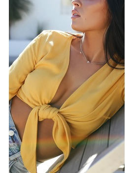 Secret Wish Gold Choker Necklace by Lulus