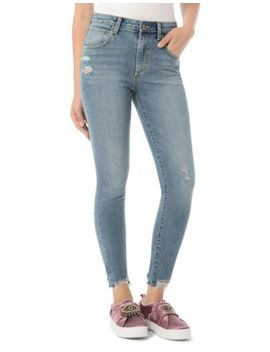 Stiletto Embellished Skinny Jeans by Sam Edelman