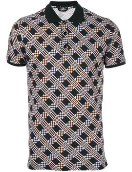 Embroidered Fitted Polo Top by Fendi Tom Ford Fendi Tom Ford Fendi Tom Ford Fendi