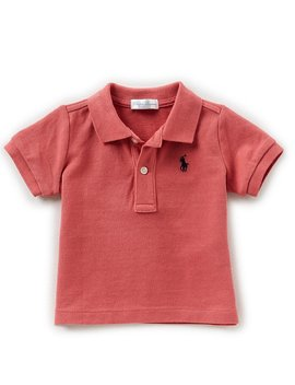 Childrenswear Baby Boys 3 24 Months Short Sleeve Polo Shirt by Ralph Lauren