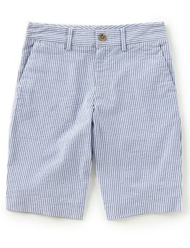 Childrenswear Big Boys 8 20 Seersucker Shorts by Ralph Lauren