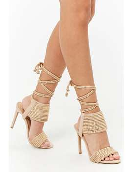Privileged Shoes Lace Up Heels by Forever 21
