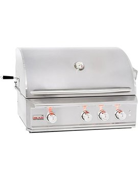 "34"" Professional Grill With 3 Burners Fuel Type: Natural Gas by Blaze Grills"