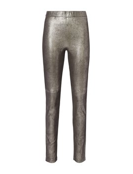 Hartley Stretch Leather Leggings by Intermix