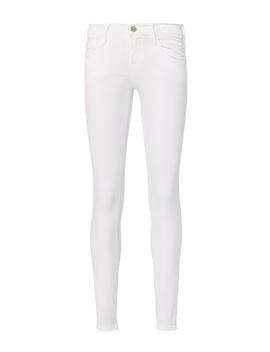 Le Skinny De Jeanne White Jeans by Frame