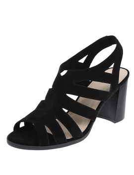 Women's Tegan Caged Sling Heel by Learn About The Branddexflex Comfort