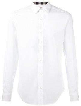 Stretch Cotton Poplin Shirt by Burberry