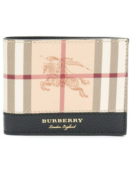 Haymarket Check Billfold Wallet by Burberry