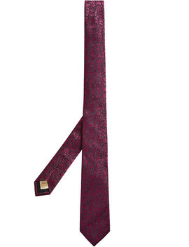 Floral Jacquard Tie by Burberry