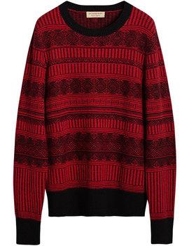 Fair Isle Sweater by Burberry