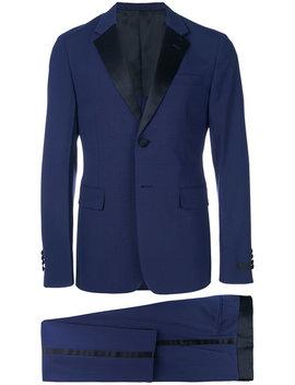 Satin Trim Suit by Prada