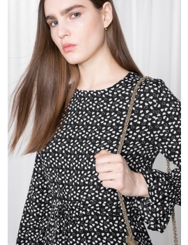Heart Print Skater Dress by & Other Stories