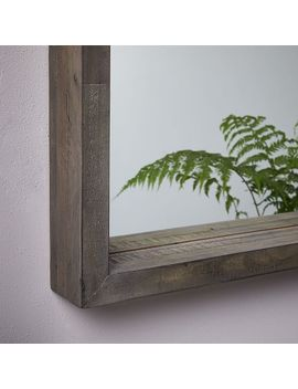 Emmerson® Modern Reclaimed Wood Wall Mirror by West Elm
