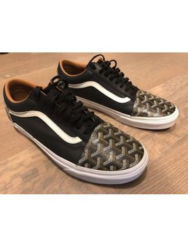 Goyard X Vans Sneakers Black 10.5 by Vans
