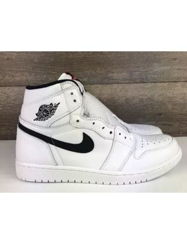 Nike Air Jordan 1 Retro High Og Yin Yang Size 10.5 Mens White Black (555088 102) by Nike