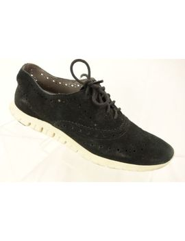 Cole Haan Zerogrand Black Brogue Accent Lace Up Tennis Shoe Women's Size 6.5 M by Cole Haan