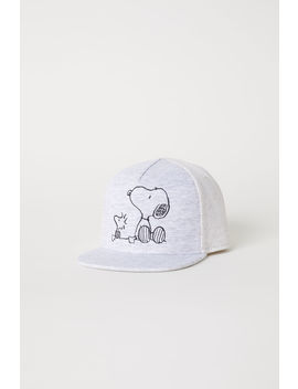 Cap With Printed Design by H&M