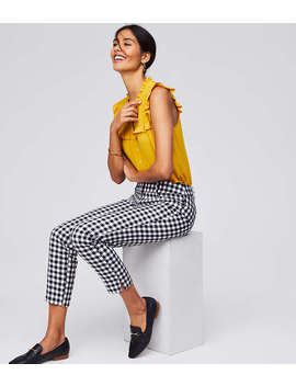 Gingham Riviera Pants In Marisa Fit by Loft