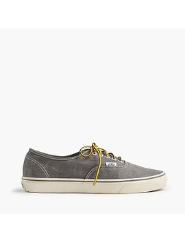 Vans® For J.Crew Washed Canvas Authentic Sneakers by Vans