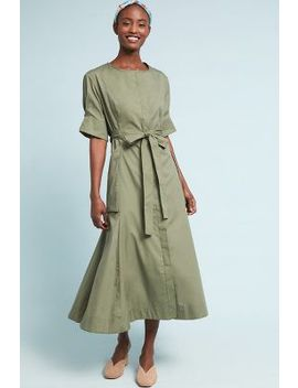 Jasper Button Front Shirtdress by Sissa