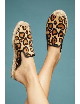 Sam Edelman Kerry Leopard Espadrille Slides by Sam Edelman