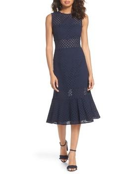 Taylor Eyelet Midi Dress by Nsr