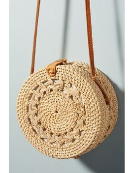 Rina Crocheted Crossbody Bag by Anthropologie