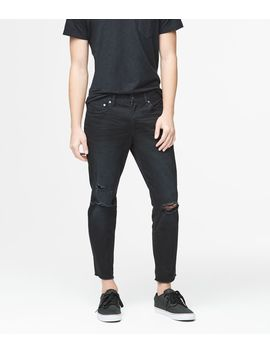 Skinny Crop Black Wash Reflex Jean by Aeropostale