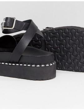 Asos Design Febe Chunky Studded Sandals by Asos Design