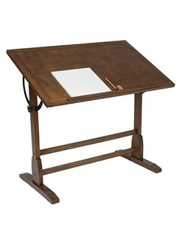 Studio Designs 36 X 24 Inch Vintage Drafting Table, Rustic Oak by Studio Designs