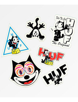 Huf X Felix The Cat Sticker Pack by Huf