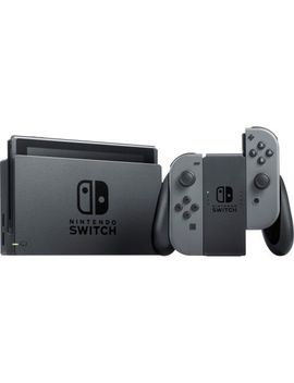 Nintendo Switch With Gray Joy Con by Nintendo