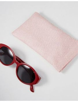Stradivarius Oval Sunglasses by Stradivarius