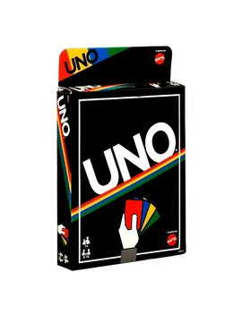 Uno Card Game   Retro Edition By Mattel by Mattel