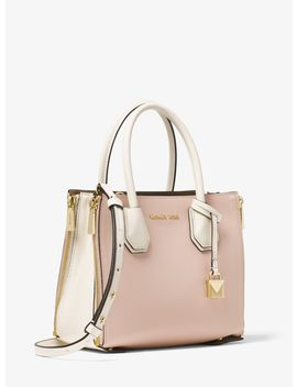 Design A Mercer Leather Crossbody by Michael Michael Kors