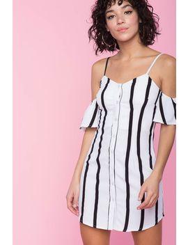 Nicky Stripe Dress by A'gaci