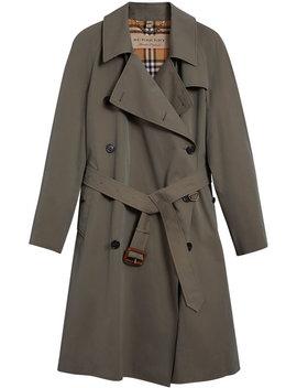 Gabardine Trench Coat by Burberry