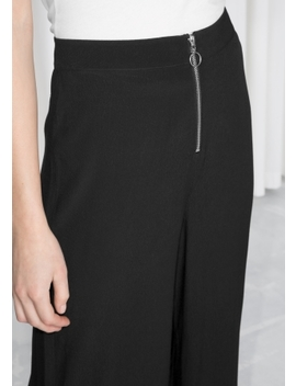 O Ring Zipper Culottes by & Other Stories
