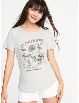 """""""Florida"""" Graphic Tee For Women by Old Navy"""