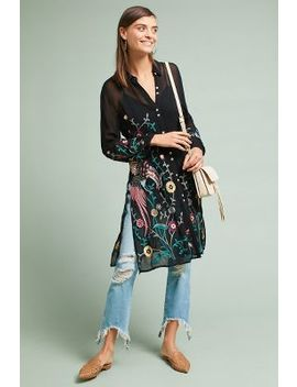 Dali Embroidered Shirt by Seen Worn Kept