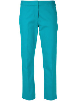Cropped Tailored Trousers by Michael Michael Kors