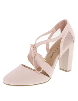 Women's Kami Ghillie Block Heel by Learn About The Brand Christian Siriano For Payless