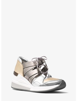 Beckett Metallic Sneaker by Michael Michael Kors