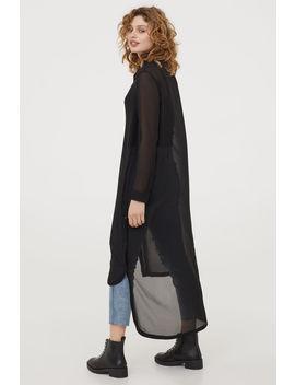 Chiffon Shirt Dress by H&M